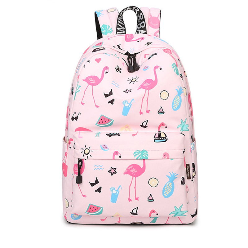 ee7eab19ce0b Waterproof Pink Flamingo Fashion Backpack - Queerks™
